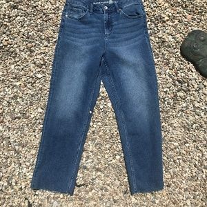 Max Studio Womens Authentic Denim High Rise Size 8